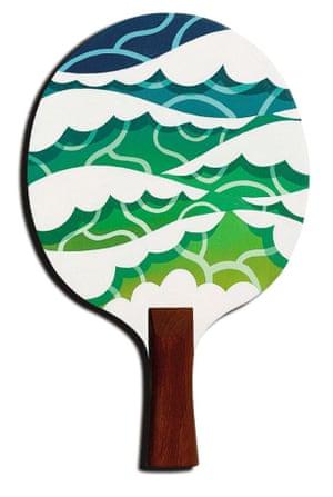 Pete Fowler the art of ping pong bats