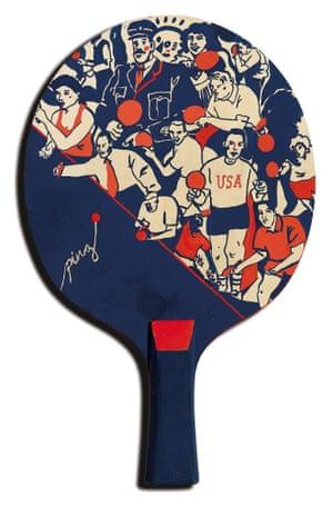 Harry Tennant the art of ping pong bats