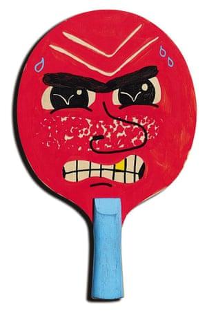 Thomas Slater the art of Ping Pong bats