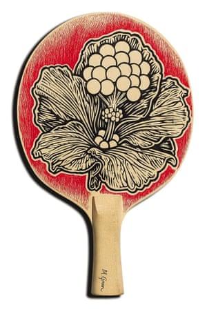 The art of ping pong bats Matthew Green