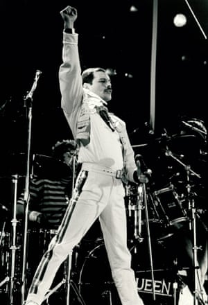 Q is for Queen. This black and white photograph of Freddie Mercury at a sell out Queen performance at Wembley Stadium was taken in July 1986. It has been reproduced here courtesy of photographer Allan Titmuss. It is one example from the GNM Archive's extensive library of 20th-century music and theatre related pictures. Other gems include stills from National Theatre productions and shots of The Beatles by Jane Bown.