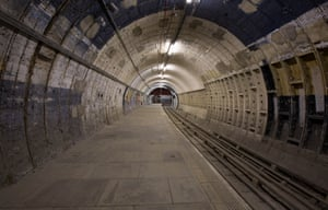 Aldwych disused underground station