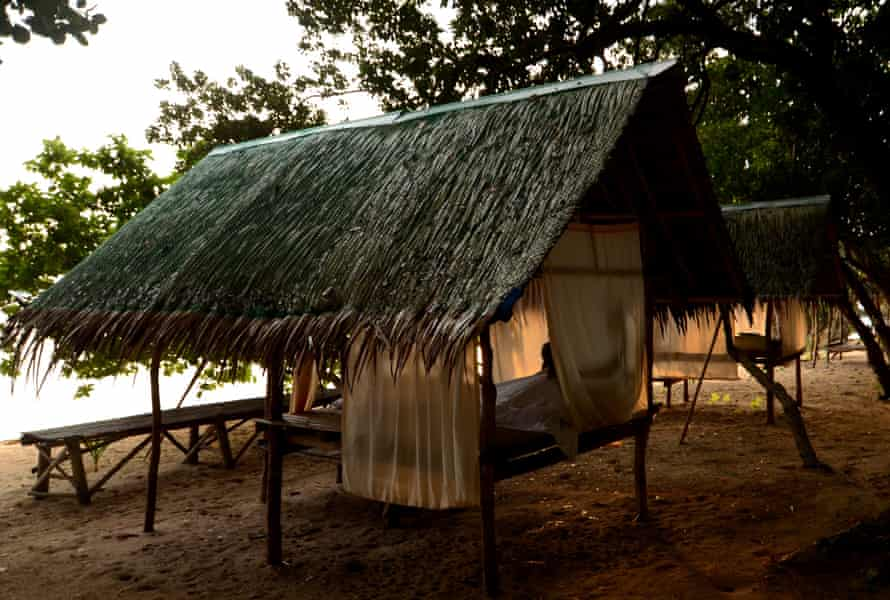 Accommodation at one of Tao Philippines' base camps.