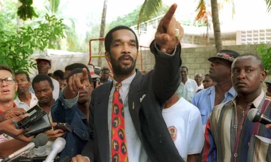 Haitian death squad leader Toto Constant