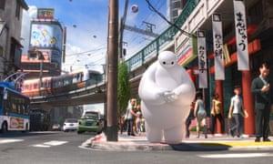 Big Hero 6 review: an adorable robot bounces through mayhem