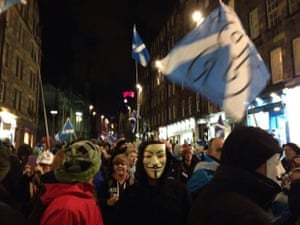 anonymous on the royal mile