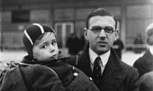 Nicholas Wintonin Prague in 1939.