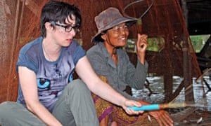 Suitably sweaty ineptitude: The Mekong River with Sue Perkins.