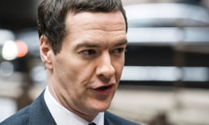 George Osborne at the start of the European finance ministers' meeting in Brussels.