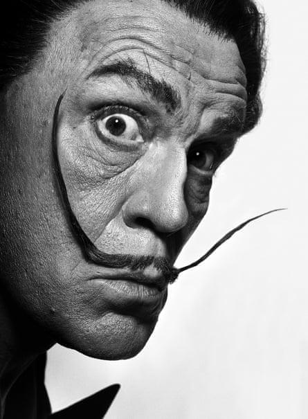 Philippe Halsman - Salvador Dali (1954).
