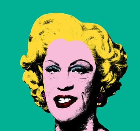 Andy Warhol – Green Marilyn (1962).