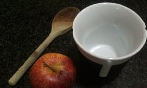 My wounded glüwein mug