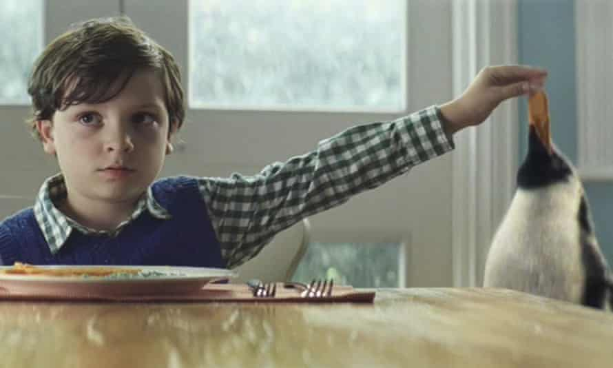 The John Lewis Christmas ad – with that penguin.