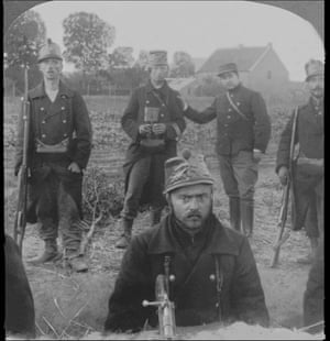 Lange, a Belgian soldier who was decorated for single-handedly killing 15 German soldiers between 1914 and 1918