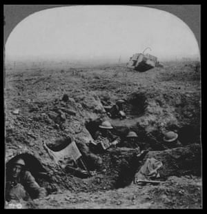 Down in the shell crater, we fought like Kilkenny Cats - Battle Cambrai