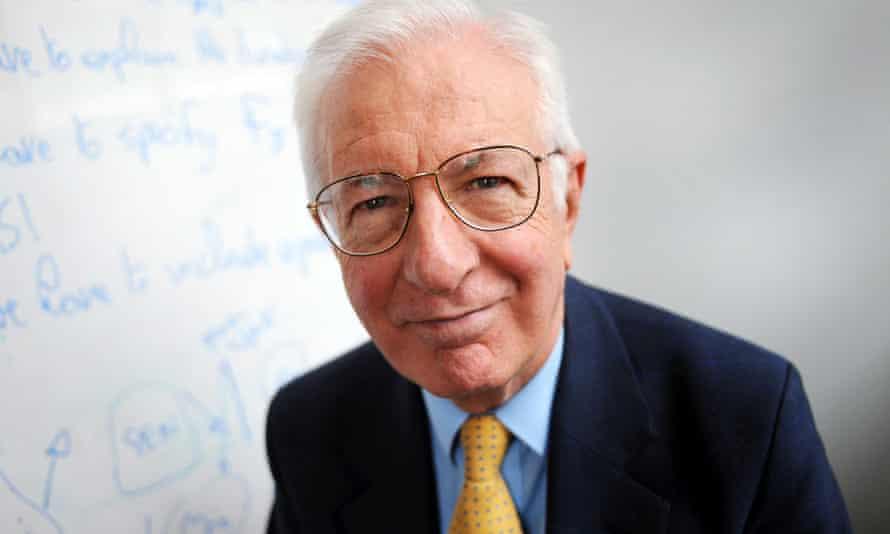 Lord Richard Layard, who is emeritus professor of economics at the LSE.