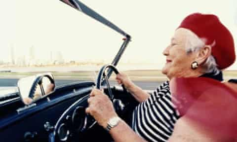 Age no limit: future cars with the technology to aid older drivers are now being developed.