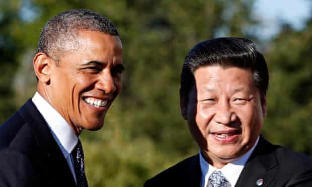 Barack Obama Xi Jinping