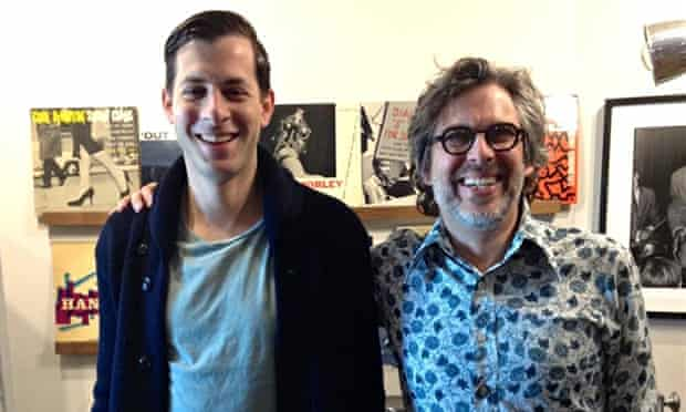 Mark Ronson and Michael Chabon