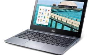 Chromebook laptops are increasingly popular in US schools.