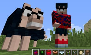 Minecraft's latest mod stars Dennis and Gnasher from The Beano.