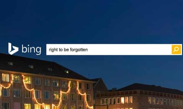 Bing and Yahoo have joined Google in responding to 'right to be forgotten' requests.