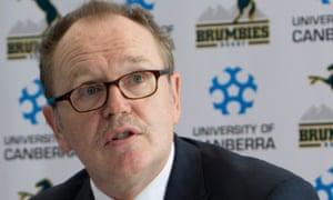 University of Canberra vice chancellor, Stephen Parker,