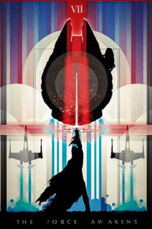 Legion of Potatoes's Star Wars: The Force Awakens fan poster.
