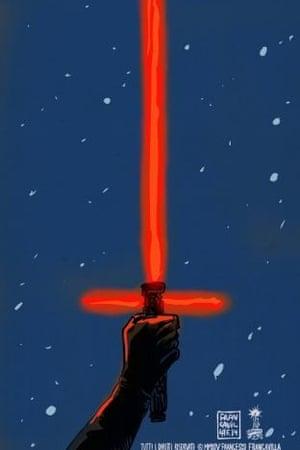 Streetrulesbadminton's Star Wars: The Force Awakens fan poster