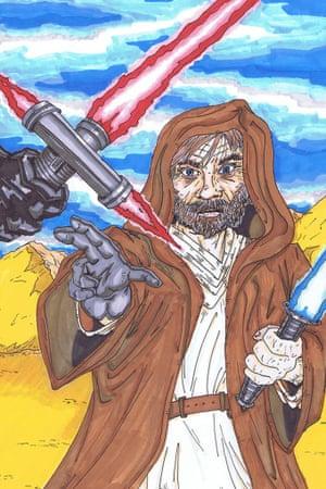 MattyMo's Star Wars: The Force Awakens fan art.