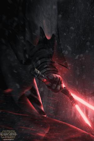 Kode Logic's fan poster for Star Wars: The Force Awakens.