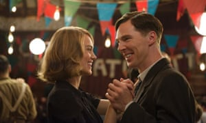 De-bunting the myths …Keira Knightley and Benedict Cumberbatch in The Imitation Game