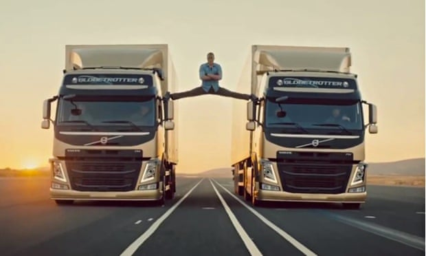 Ad break van damme