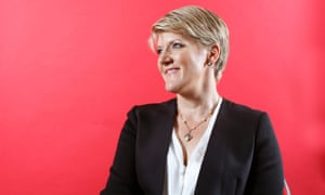 Clare Balding photographed at the BT Sport studios in east London.
