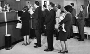 Bank queue