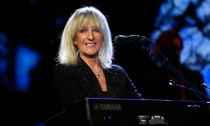 Christine McVie performs at Madison Square Garden with Fleetwood Mac.