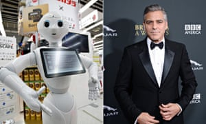 Pepper and George Clooney
