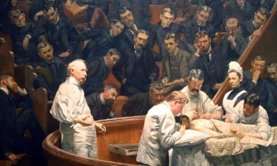 The Agnew Clinic by Thomas Eakins.