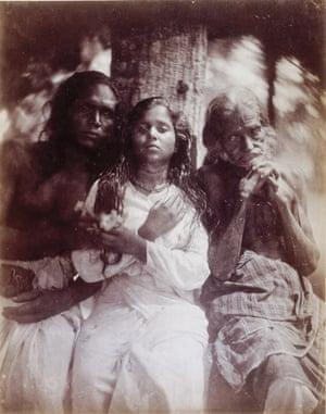 A Group of Kalutara Peasants, 1878 by Julia Margaret Cameron