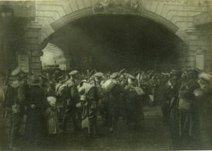'The Gate of Goodbye', c.1916 by  Francis James Mortimer