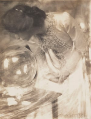 'The Magic Crystal', c 1904 by Gertrude Kasebier