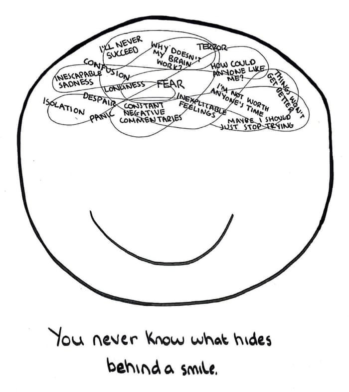 Drawing Through Depression The Doodle Chronicles Christmas Charity Appeal 2014 The Guardian