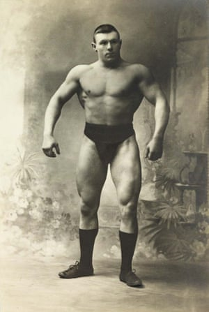 Hackenschmidt, The Russian Champion Wrestler, about 1895 by  Paul Martin