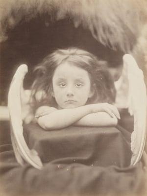 I Wait, 1872 by Julia Margaret Cameron.
