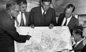 Officials examine Johannesburg 'Native Townships' plan
