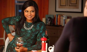 Mindy Kaling and Chris Messina in The Mindy Project