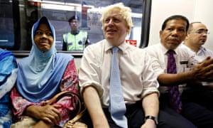 Boris Johnson in Malaysia