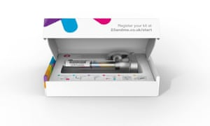 DNA-screening test 23andMe launches in UK after US ban