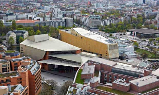 Berlin's Kulturforum arts cluster, which Chipperfield says has been for 'rebuilding a city, not just