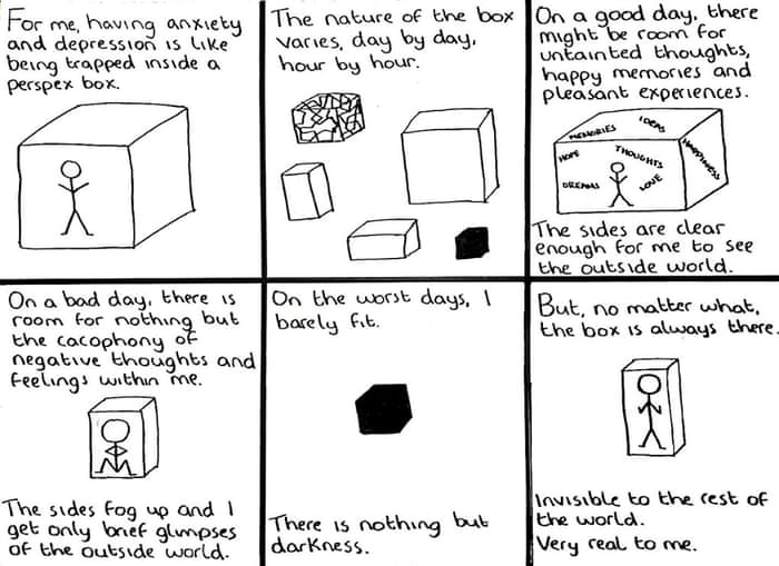Drawing Through Depression The Doodle Chronicles Society The